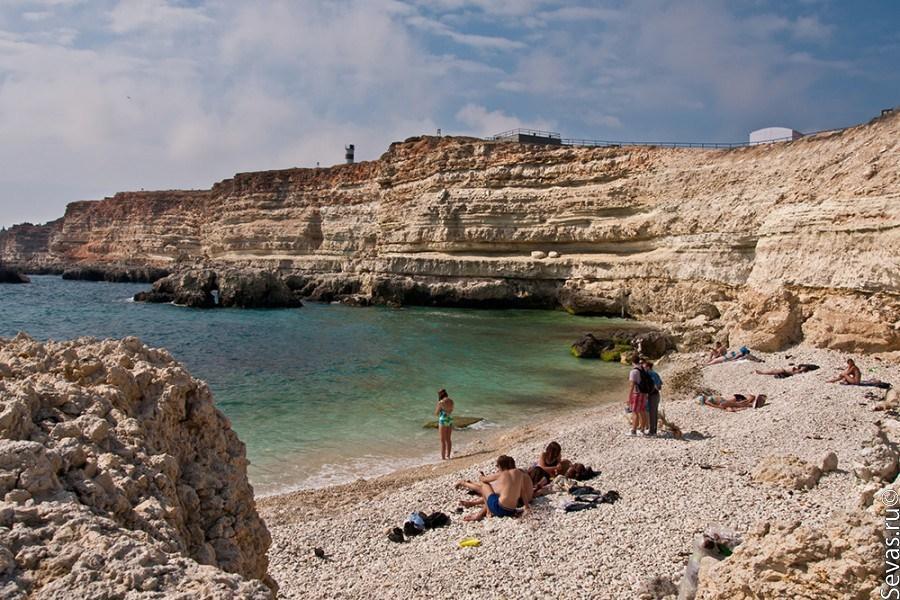 Фото пляж в голубой бухте
